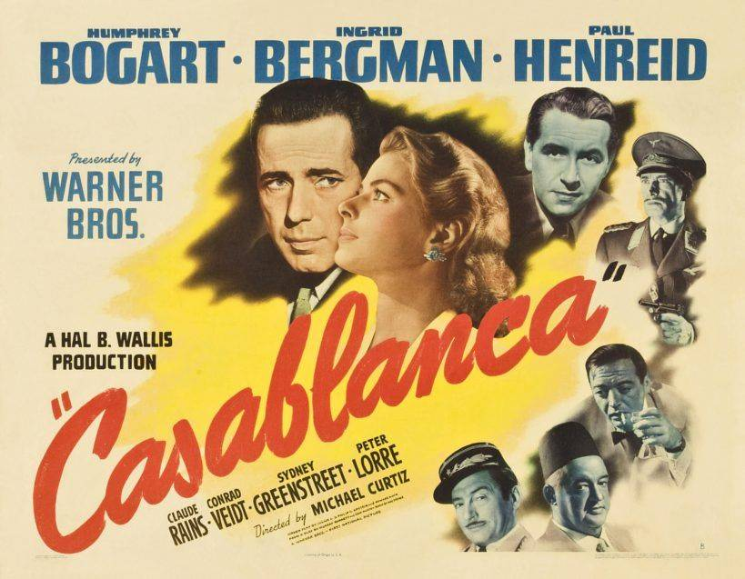 Casablanca - Cartel original