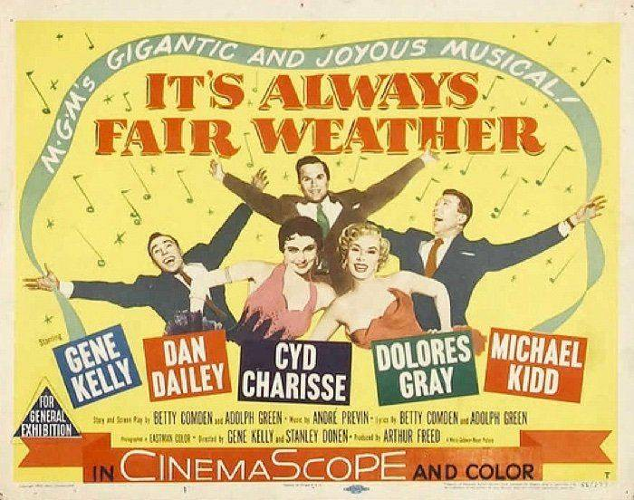 Moviecrazy - Its Always Fair Weather - Poster