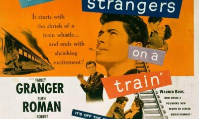 Strangers on a Train - Extranos en un tren - Poster