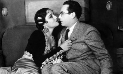 Constance Cummings y Harold Lloyd en Movie Crazy