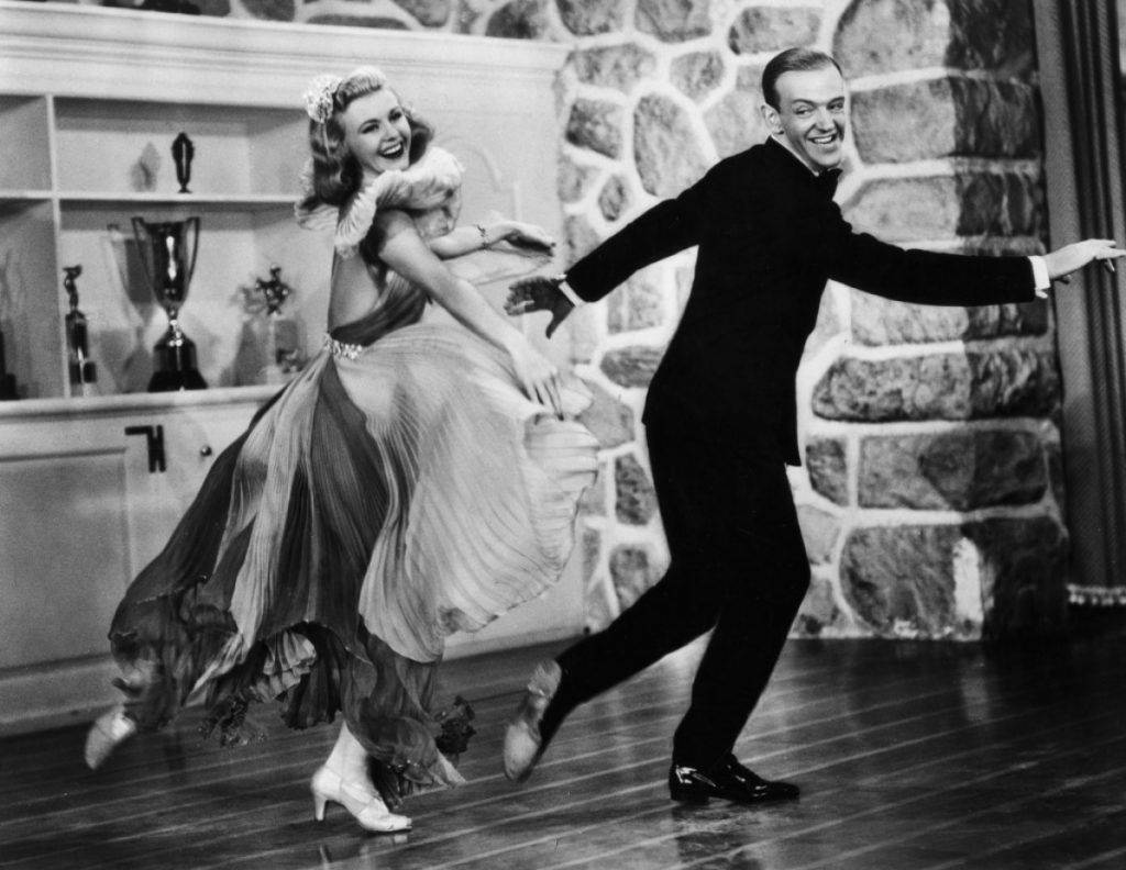 Amanda - Ginger Rogers y Fred Astaire - MOVIECRAZY
