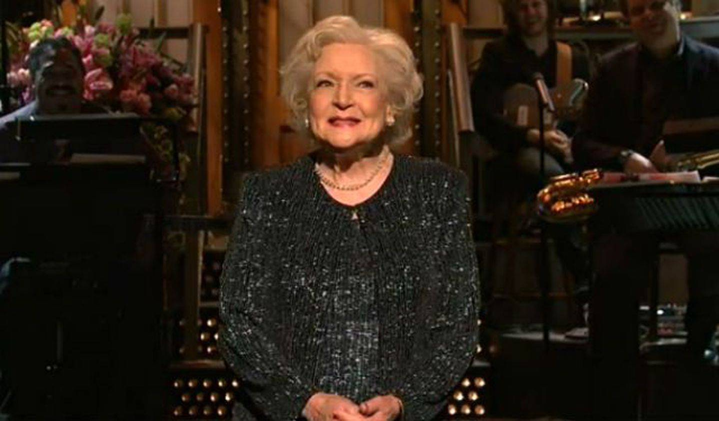 Betty White en Saturday Night Live