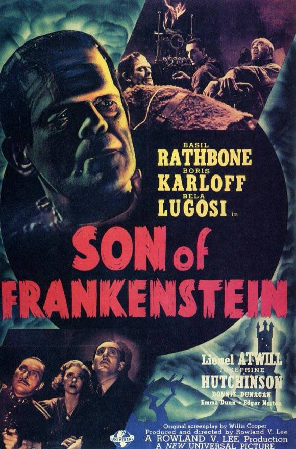 Son of Frankenstein - Poster - Moviecrazy