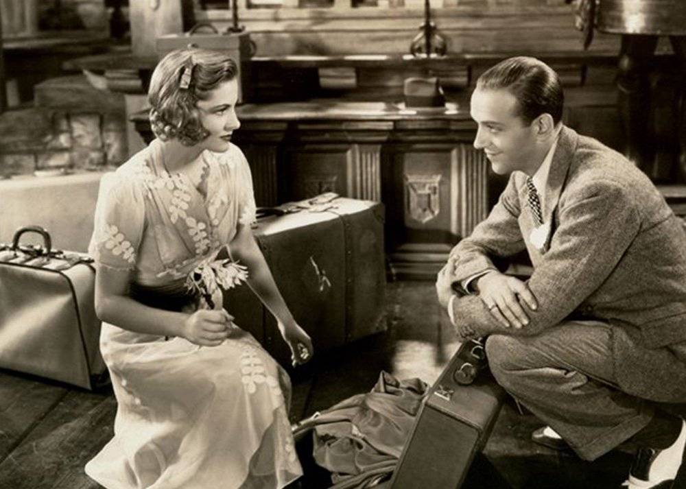 Fred Astaire y Joan Fontaine - A Damsel in Distress