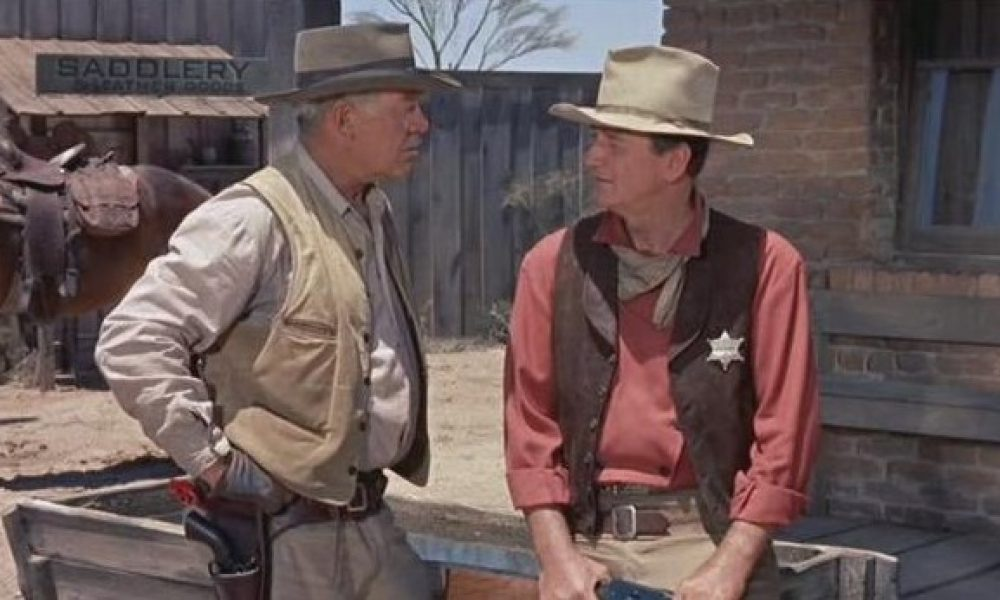 Ward Bond y John Wayne