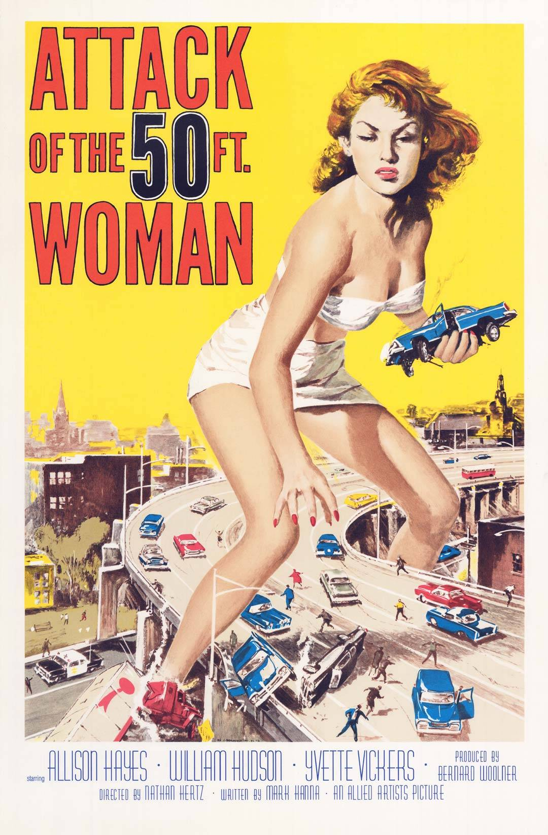 Critica Attack of the 50 Foot Woman